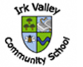 Irk Valley Community School school crest.